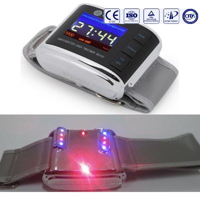 rood-blauw softlaser-watch